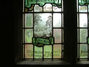 Lee Fair, as depicted in a church window