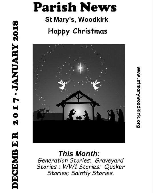 December 2017-January 2018 Parish News